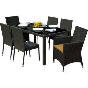 Park Terrace 7 Piece Dining Set By dCOR design