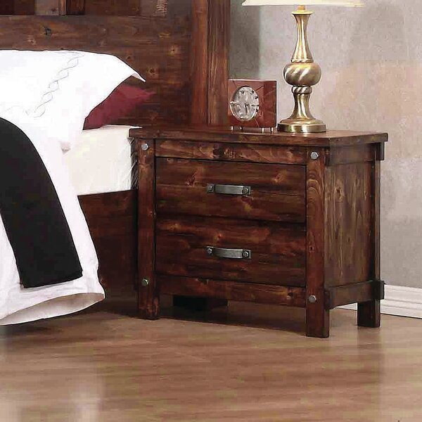 Whitney 2 Drawer Nightstand by Red Barrel Studio