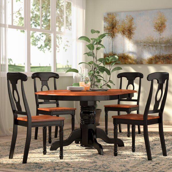 New Design Aimee 5 Piece Dining Set By August Grove Purchase