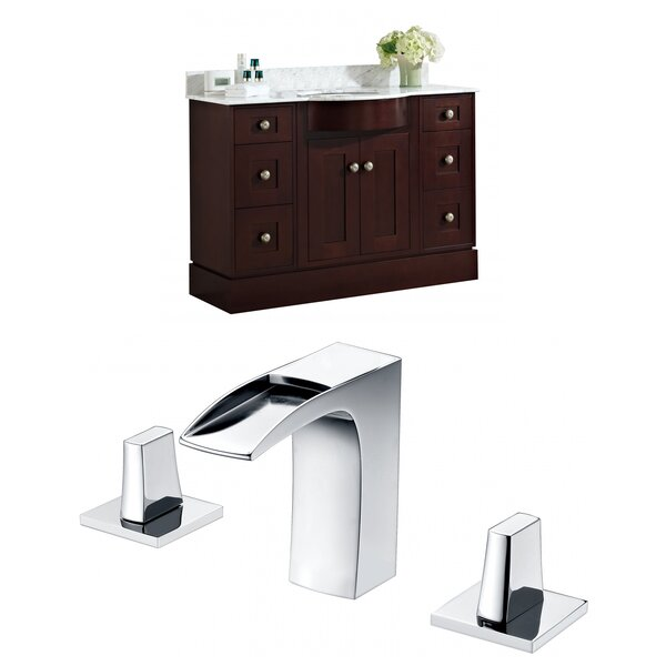 Kester Transitional 48 Rectangle Single Bathroom Vanity Set by Darby Home Co