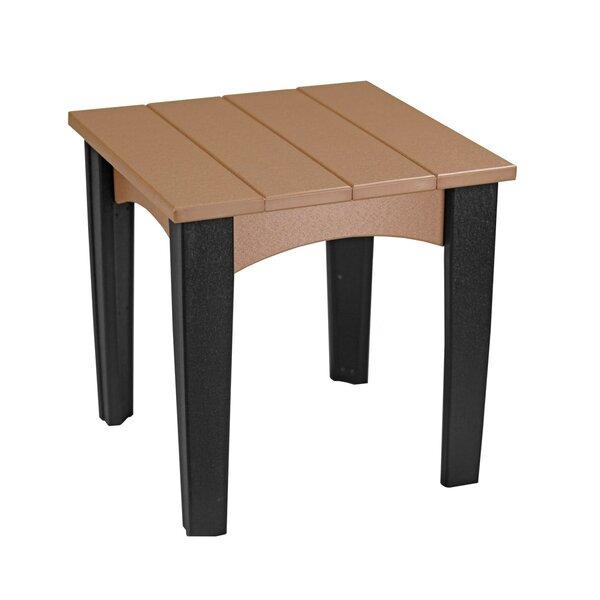 Onatas Plastic Side Table by Ebern Designs