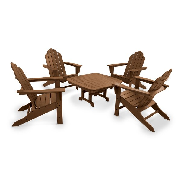 Long Island Adirondack 5-Piece Seating Group by POLYWOOD®