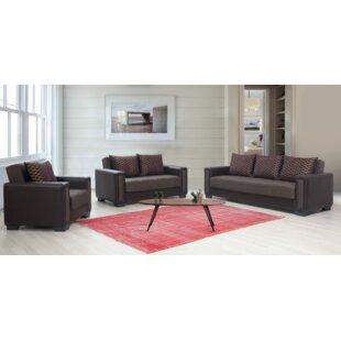 Aimey-Louise Sleeper Configurable Living Room Set by Orren Ellis