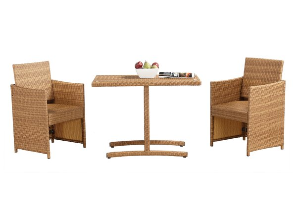 Haddam 3 Piece Dining Set by Bay Isle Home