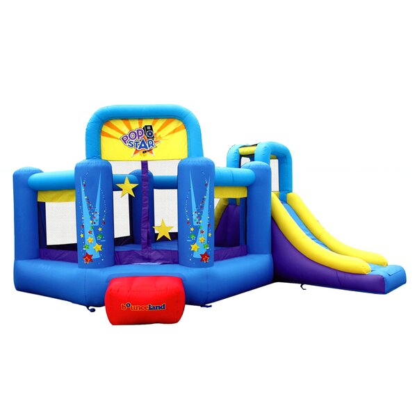 Pop Star Slide Bounce House by Bounceland