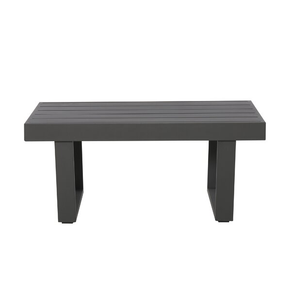 Gainell Aluminum Coffee Table by Latitude Run