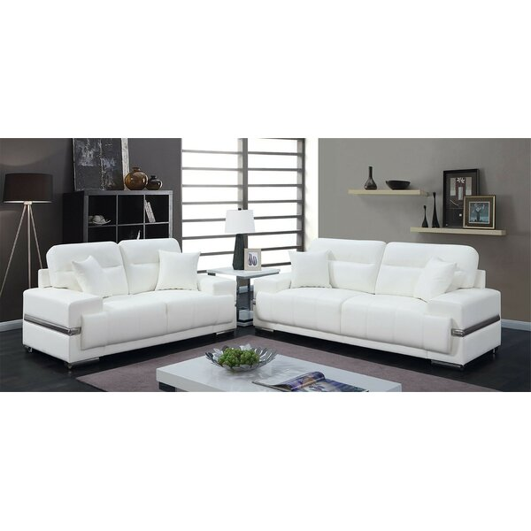 Hewson  2 Piece Living Room Set by Orren Ellis