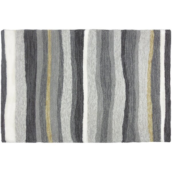 Driftwood Handmade Gray Indoor/Outdoor Area Rug by Homefires