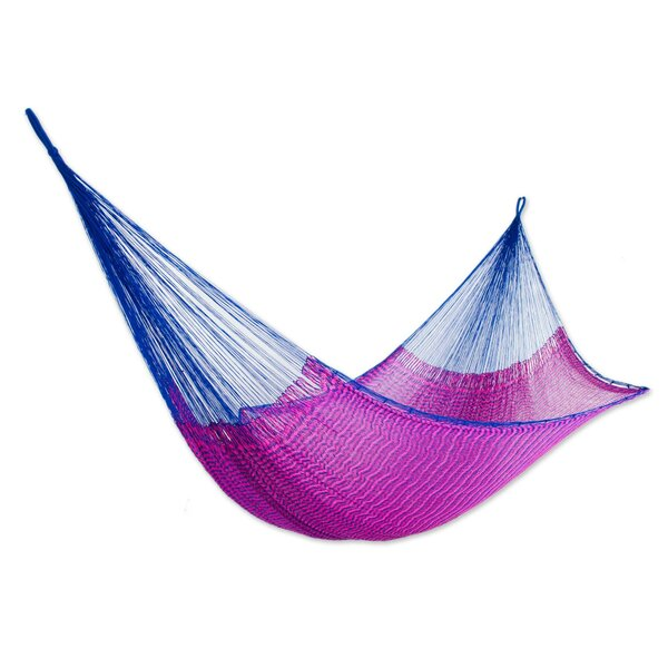 Matsumura Berry Blossom Double Tree Hammock by Bloomsbury Market