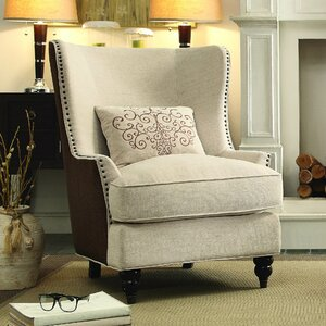 Wenona Wingback Chair by Darby Home Co