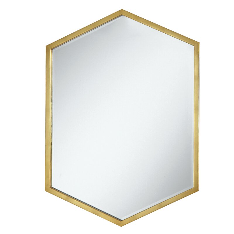 Cherine Hexagon Wall Mirror