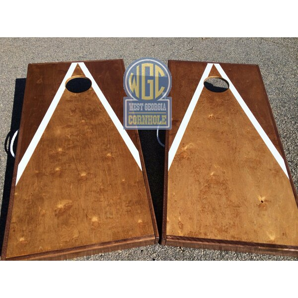 Mahogany 10 Piece Cornhole Set by West Georgia Cornhole