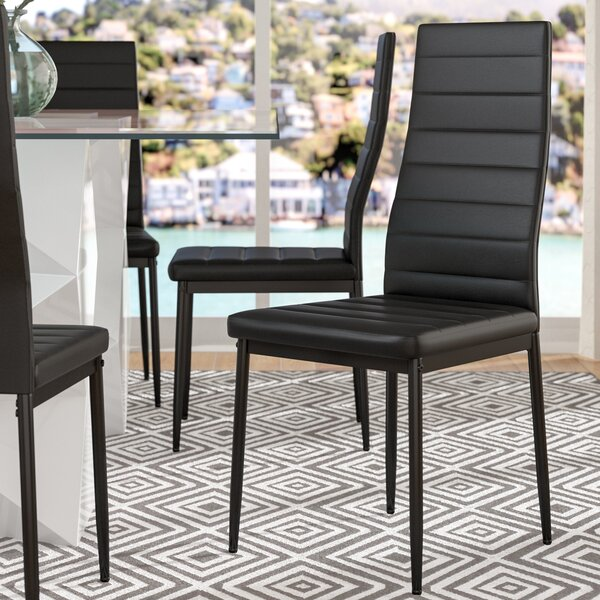 Gisselle Upholstered Dining Chair (Set of 4) by Zipcode Design