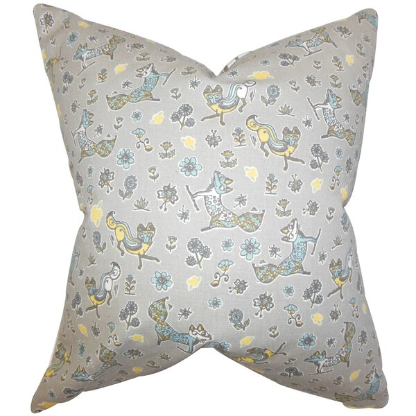 Darcy Floral Floor Pillow by Harriet Bee