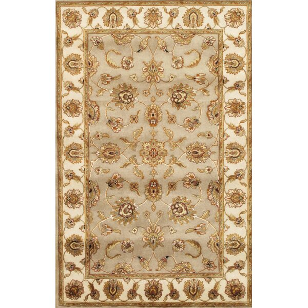 Agra Hand-Knotted Wool/Silk Area Rug by Pasargad
