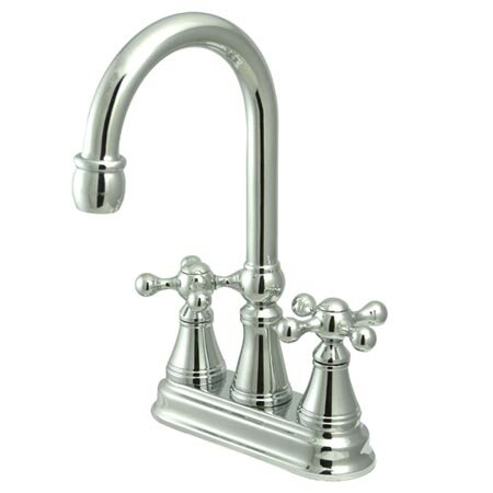 Governor Double Handle Kitchen Faucet by Kingston Brass