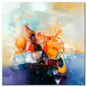 'Abstract III' by Zavaleta Painting Print on Canvas by Trademark Fine Art