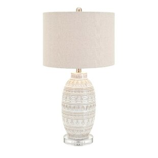 Modern contemporary chinese ceramic table lamps allmodern kyla ceramic table lamp aloadofball Images
