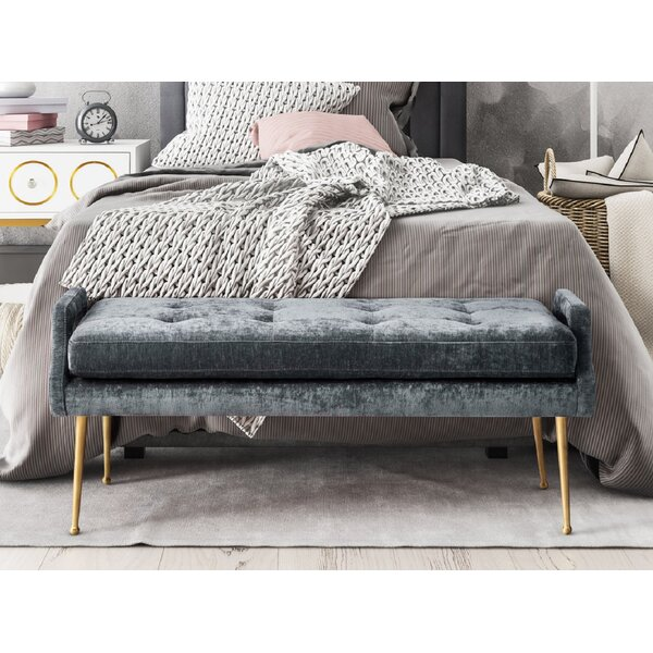 Diann Upholstered Bench by Everly Quinn
