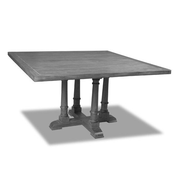 Kendrick Solid Wood Dining Table by Gracie Oaks