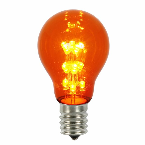 16W Amber E26 LED Light Bulb by Vickerman
