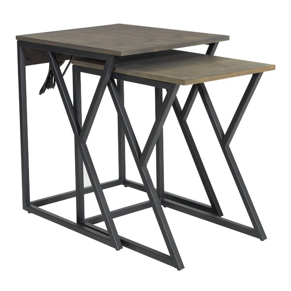 Dale Sled Nesting Table Set By Wrought Studio