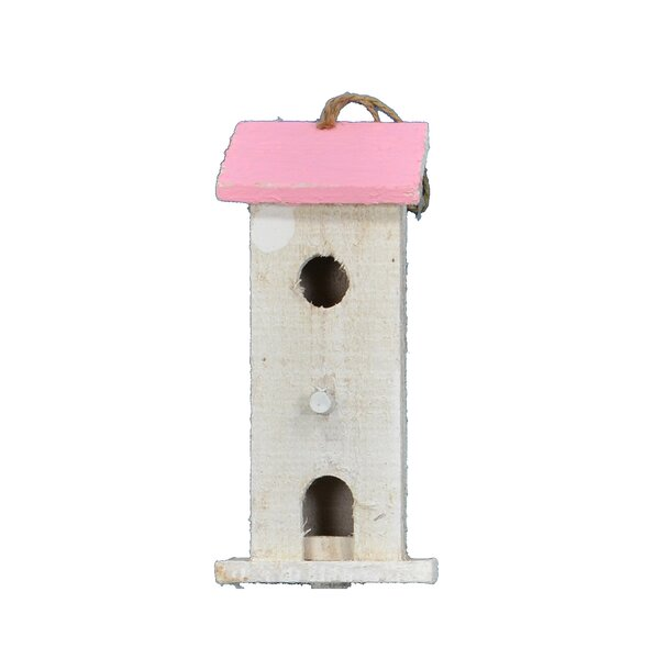 21 in x 8.5 in x 6 in Birdhouse (Set of 2) by Fantastic Craft