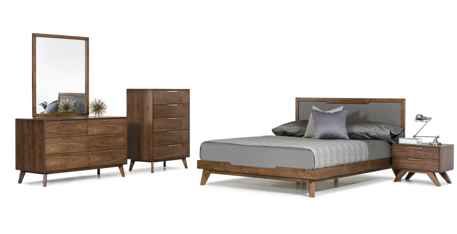 Hali Platform 5 Piece Bedroom Set. Modern   Contemporary Bedroom Sets   AllModern