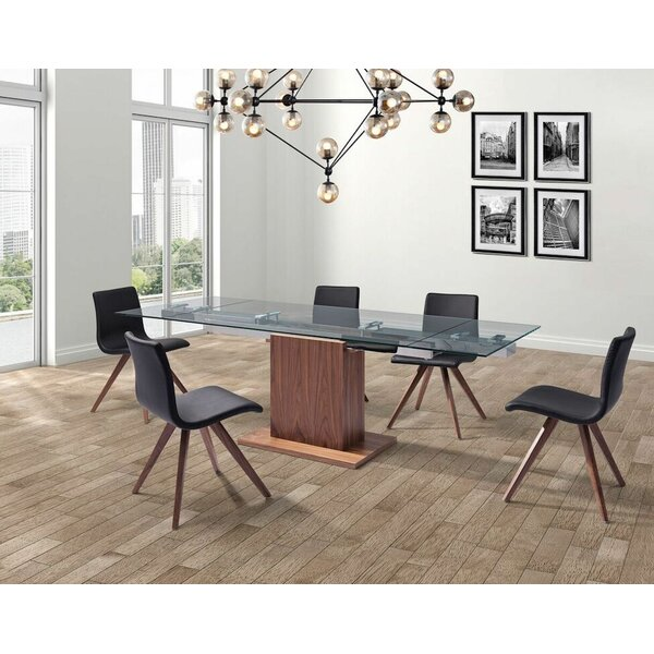 Olga Upholstered Dining Chair (Set of 2) by Whiteline Imports