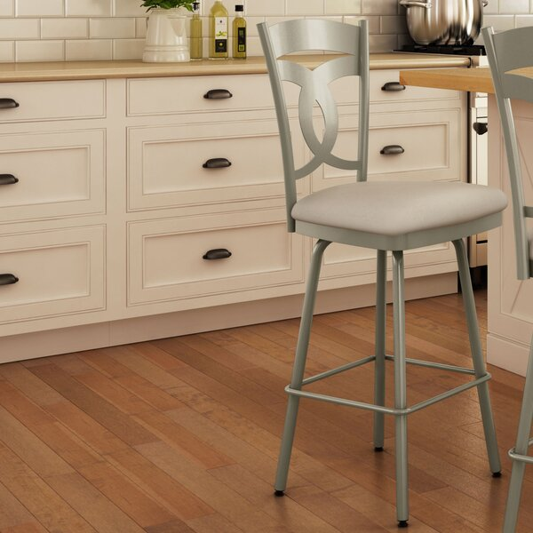 Countryside Style 27.63 Swivel Bar Stool by AmiscoCountryside Style 27.63 Swivel Bar Stool by Amisco