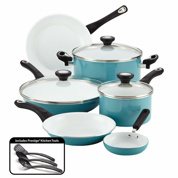 Purecook 12 Piece Non-Stick Cookware Set by Farberware