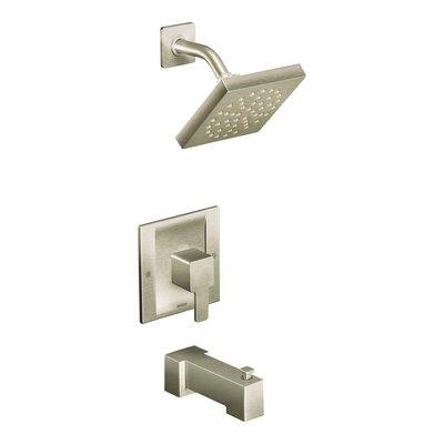 Shower Faucet Tub Brushed Nickel Flow Rate 798 Product Photo