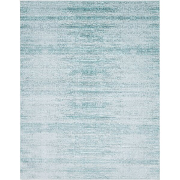 Uptown Madison Avenue Turquoise Area Rug by Jill Zarin™
