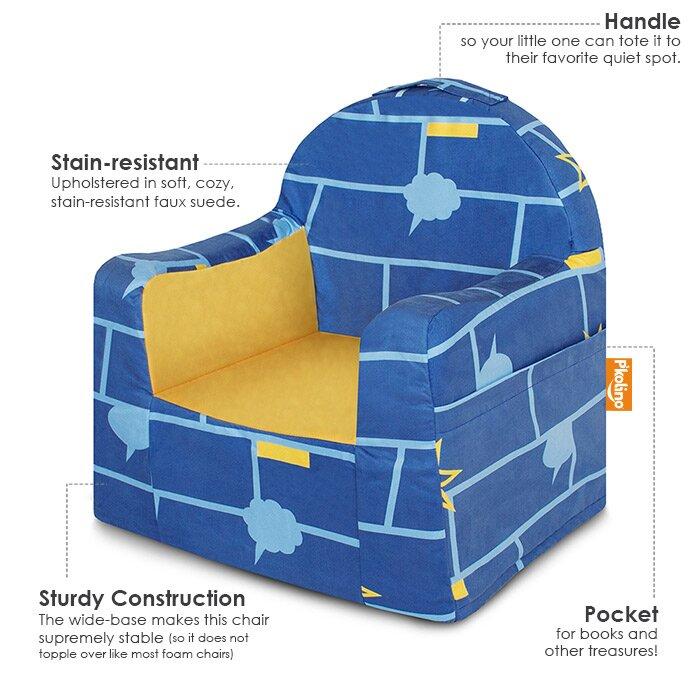 Little Reader Kids Microfiber Chair