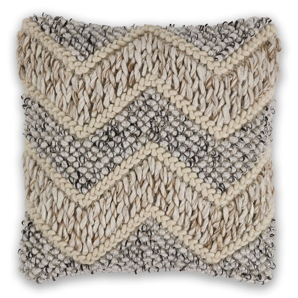 Euharlee Wool Throw Pillow by Eider & Ivory
