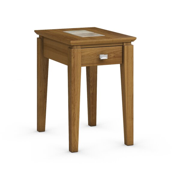 Galleon Chairside Table with Power Station by Caravel Caravel