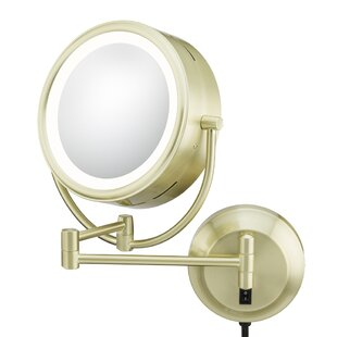 Reviews Kimball & Young NeoModern LED Lighted Plug-in Wall Mirror ByKimball & Young