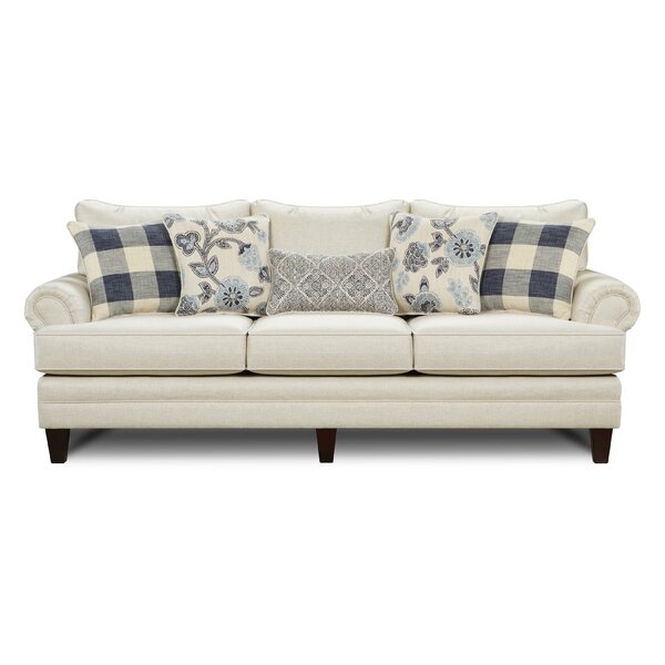 Shept Mallet Linen Sofa by Gracie Oaks