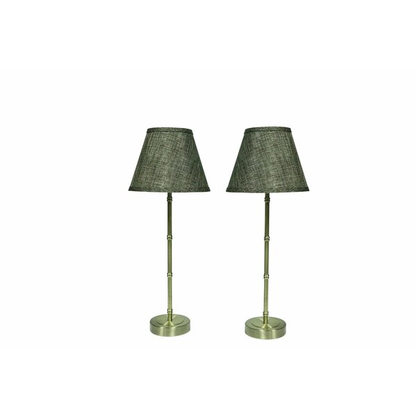 Bamboo Style 22.75 Table Lamp (Set of 2) by Urbanest