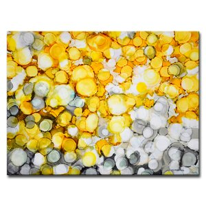 River Gold by Norman Wyatt, Jr. Painting Print on Wrapped Canvas by Ready2hangart