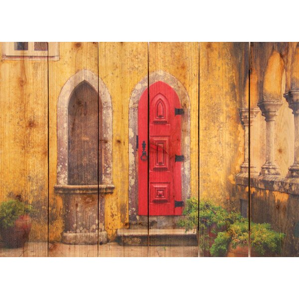 Red Door Photographic Print by Gizaun Art