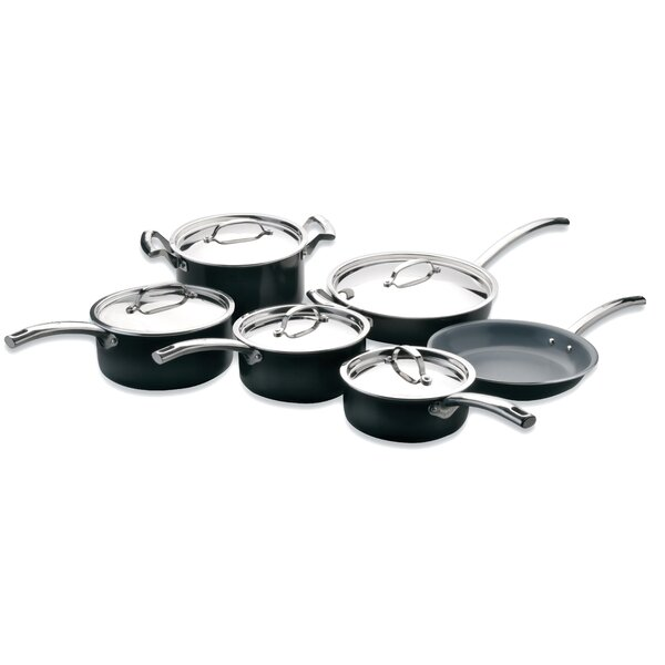 EarthChef 11-Piece Montane Non-Stick Cookware Set by BergHOFF International