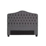 Joplin Upholstered Panel Headboard by Darby Home Co