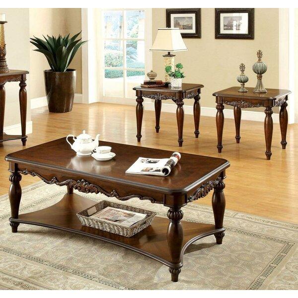 Tryphosa 3 Piece Coffee Table Set by Astoria Grand Astoria Grand