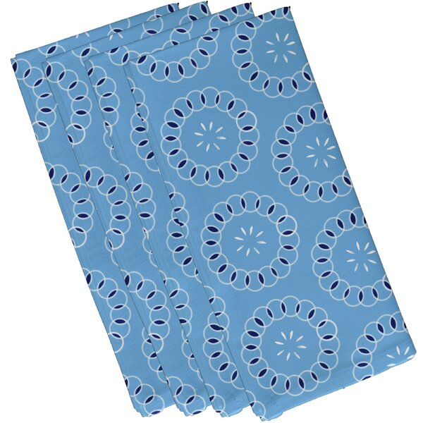 Wintergreen Floral Napkin (Set of 4) by Latitude Run