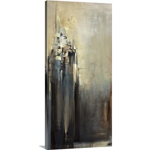 'On The Hill' by Terri Burris Painting Print on Wrapped Canvas by Great Big Canvas