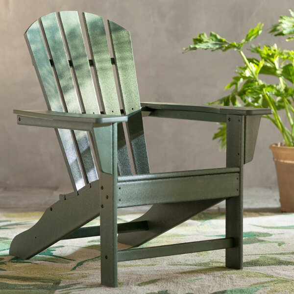 Palm Coast Plastic Adirondack Chair by POLYWOOD®