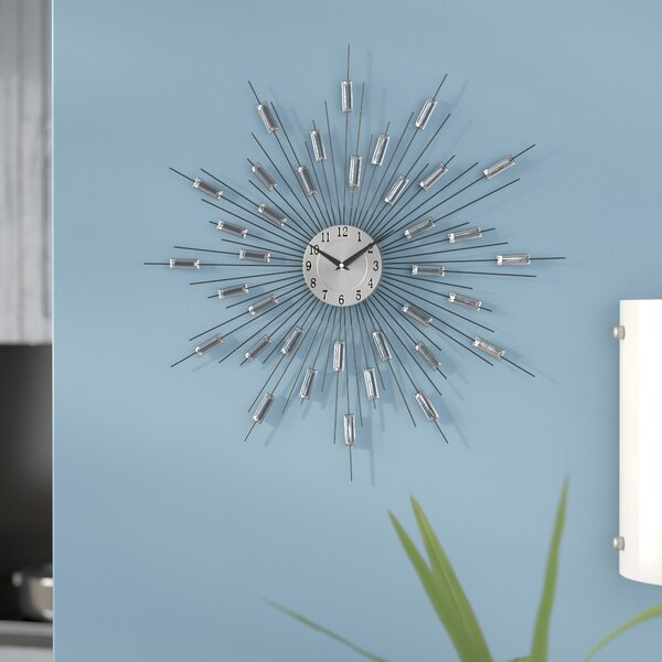 19 Wall Clock by Brayden Studio