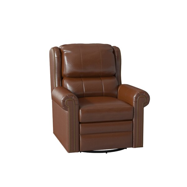 Satchel Leather Wall Hugger Recliner by Bradington-Young Bradington-Young