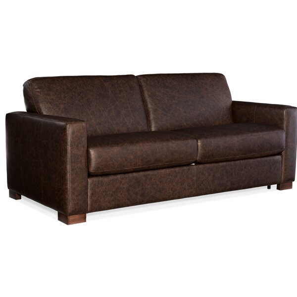 Peralta Leather Sofa Bed by Hooker Furniture Hooker Furniture